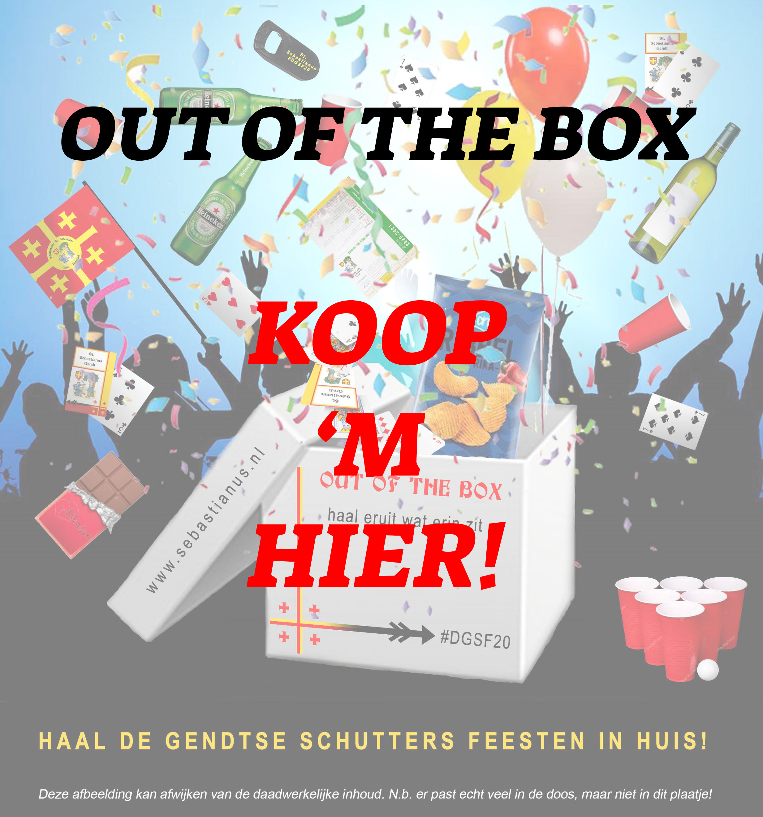 DGSF20 OUT OF THE BOX KOPEN